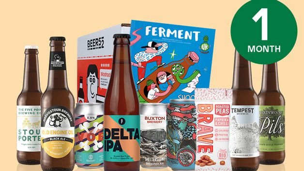 Beer52 Beer Membership available from Red Letter Days