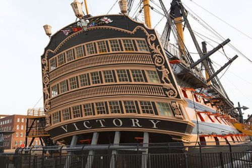 Visit Portsmouth Historic Dockyard and immerse yourself in naval history