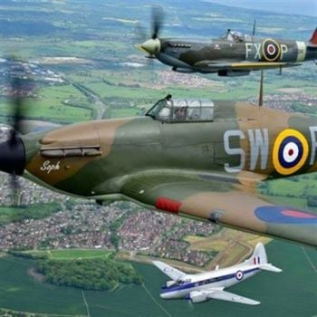 How about a Spitfire Experience from Into the Blue?