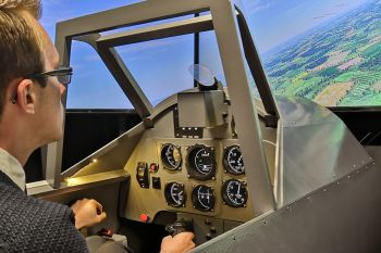 Give them a flight simulator experience!