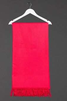This is a Hot Pink Cashmere Stole