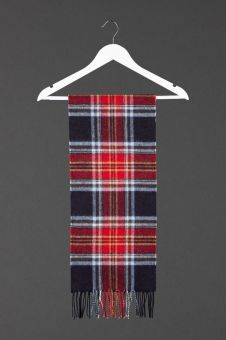 There are a range of scarves such as this Royal Mile Tartan Cashmere Scarf