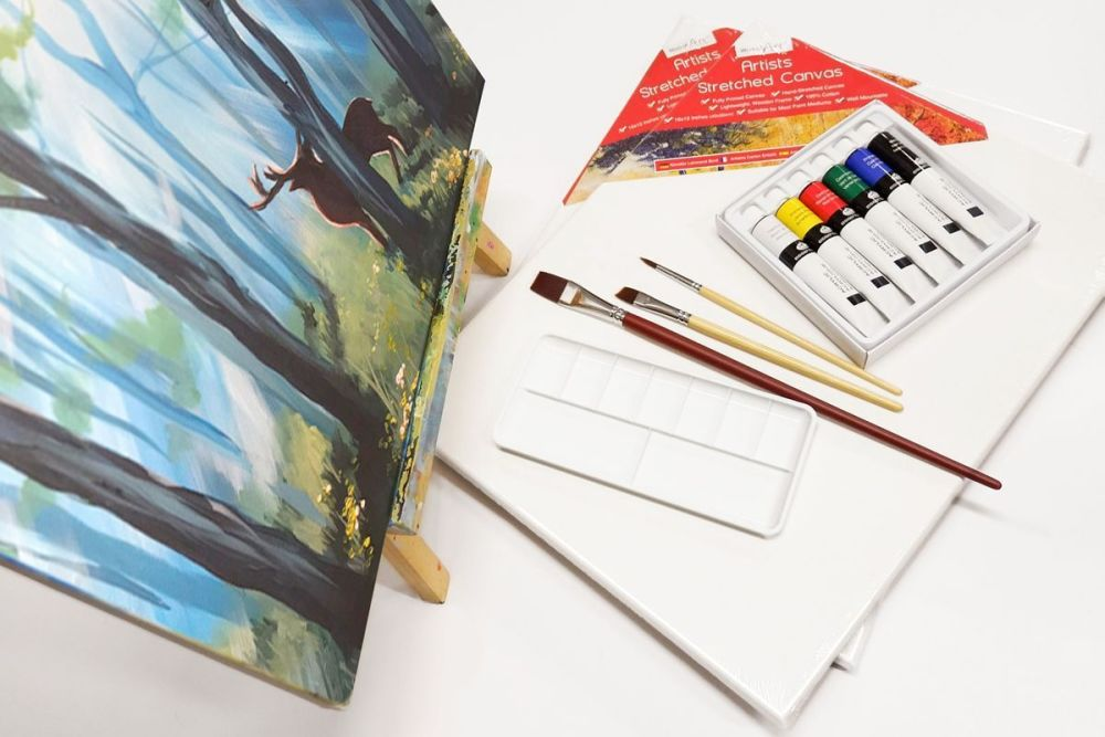 Get creative with a 3 month Brush Party Painting Club Subscription