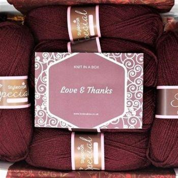Knitting Gift Boxes