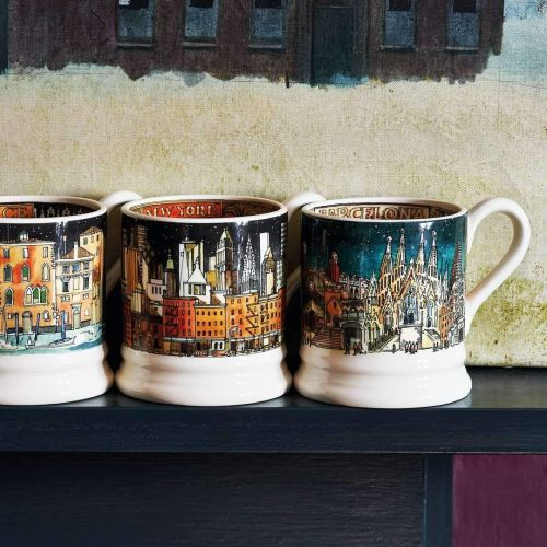 Barcelona is one of the cities in the Cities of Dreams mug collection