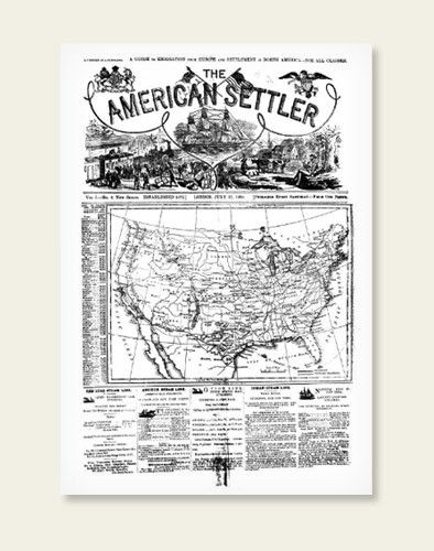 Over 5,000 pages from the American Settler has been added covering the years 1880-1892