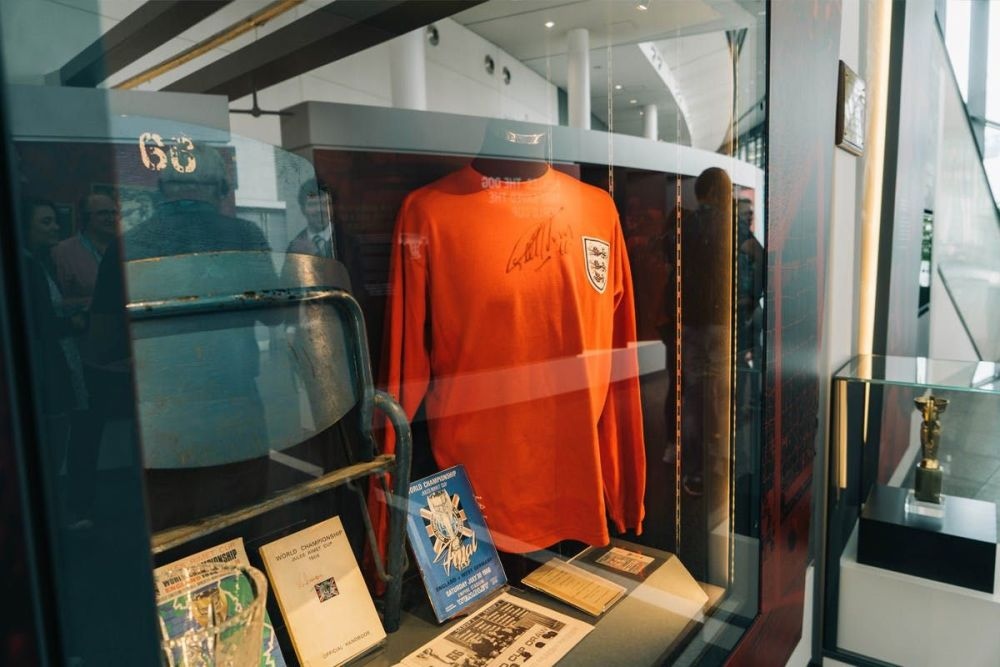 Imagine what it would be like to see behind the scenes at Wembley Stadium!