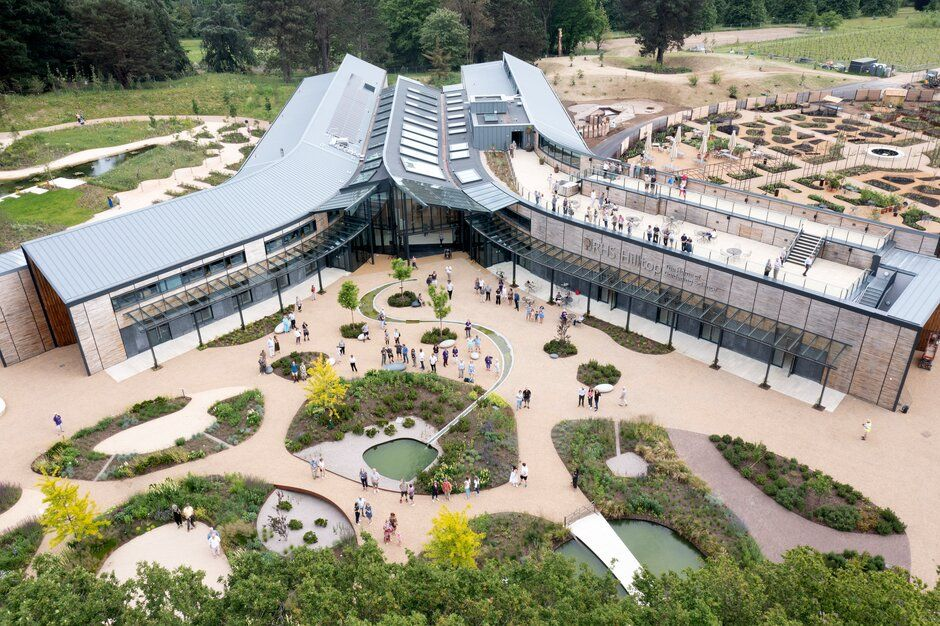 There are lots of talks at the RHS Hilltop – The Home of Gardening Science