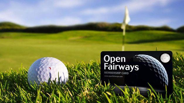 12 Month Open Fairways Membership Privilege Card
