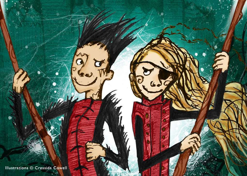 Many sites will be holding a new adventure quest inspired by Cressida Cowell's series The Wizards of Once.