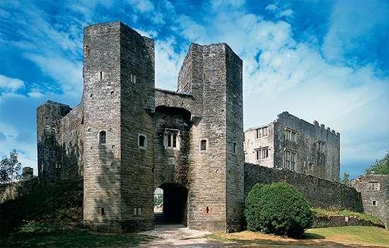 Visit a creepy castle such as Berry Pomeroy!