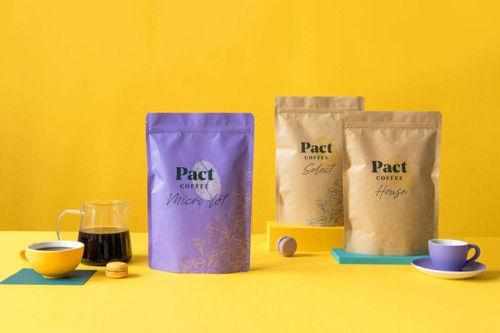 Give a subscription to award winning Pact Coffee!