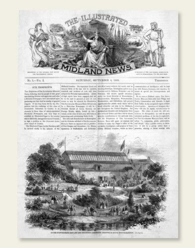 The Illustrated Midland News was first published in 1869