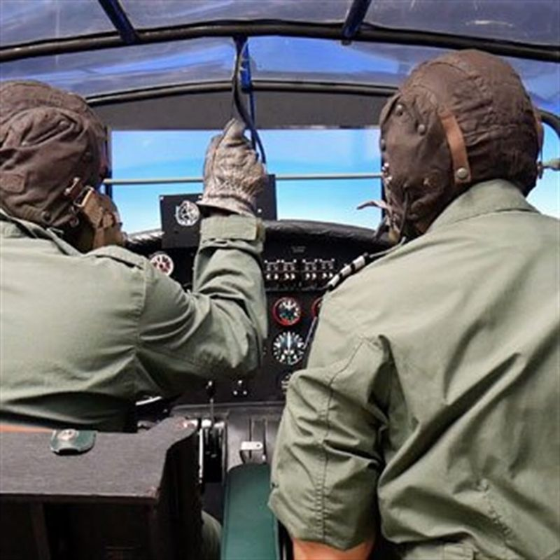 Get a feel for what it was like as a World War 2 bomber pilot