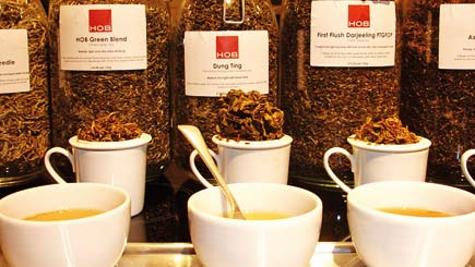 Tea Tasting for Two with Alex Probyn in London Bridge
