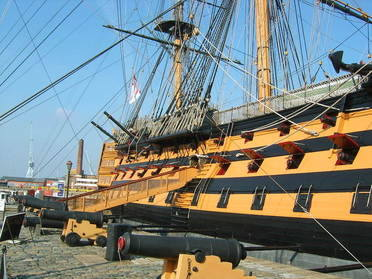 Enjoy access to a range of attractions in the Portsmouth Historic Dockyard - discover the Royal Navy of the past, present and future