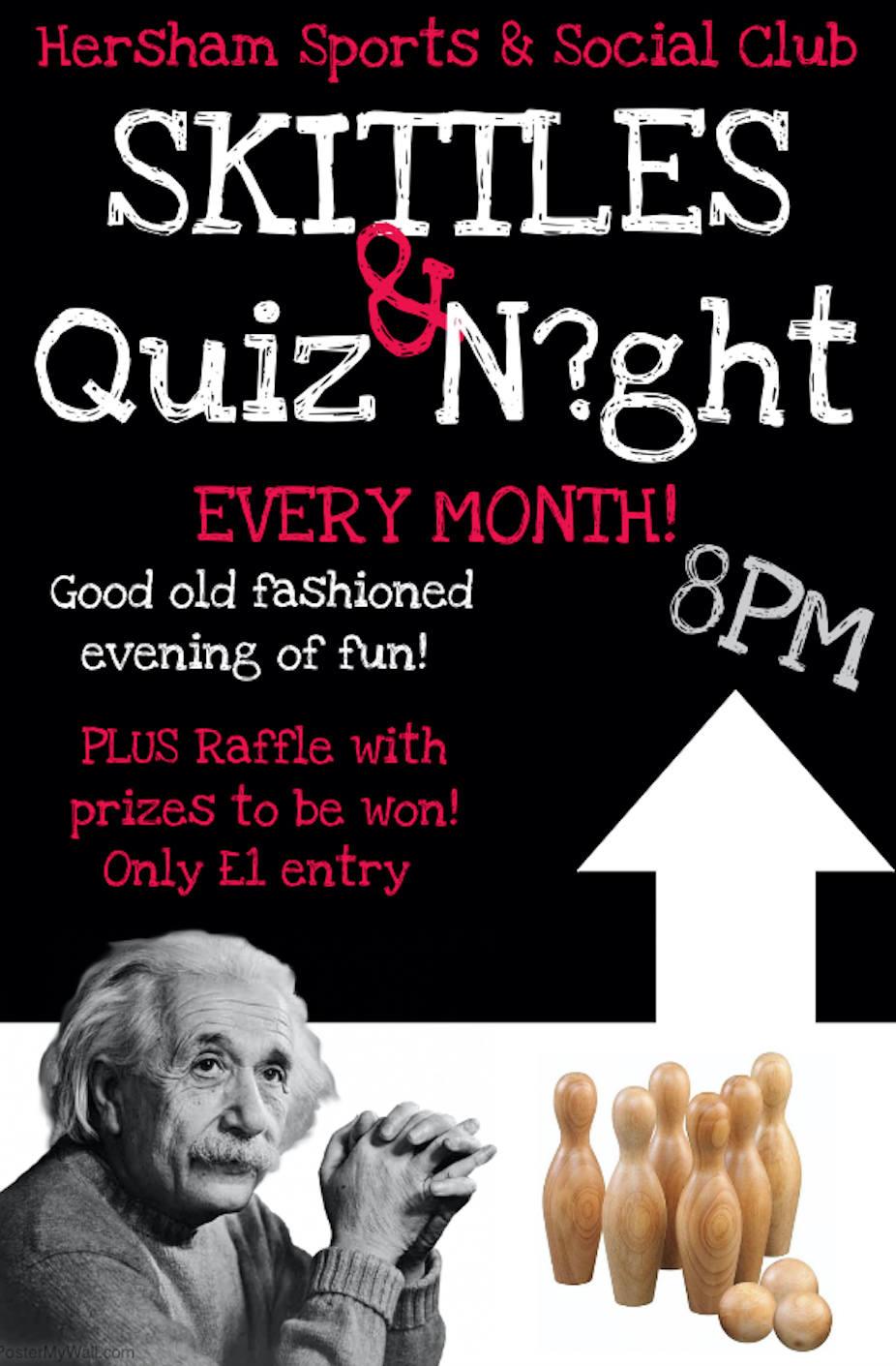 Skittles Night Poster