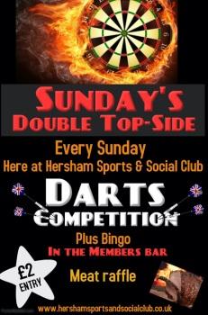 Sunday Dart Poster