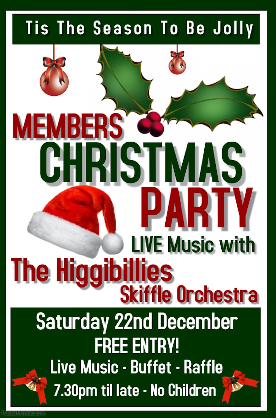 Xmas Party Poster 18