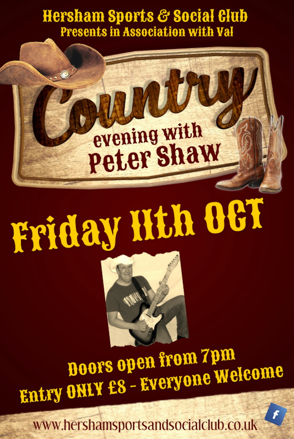 Country Poster - Oct