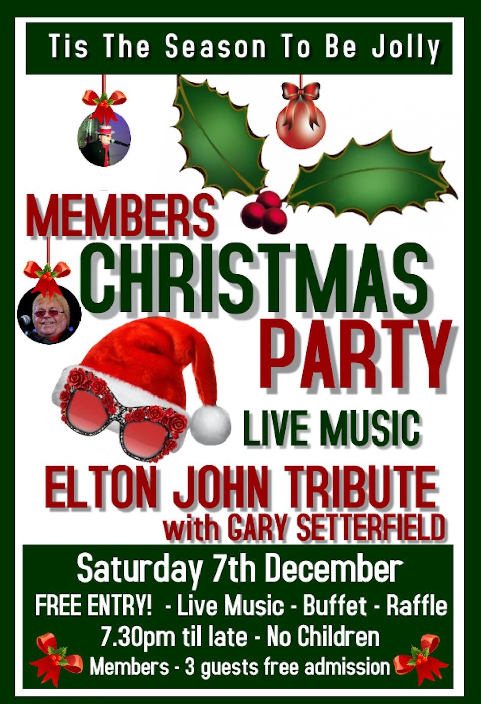 Elton John Xmas Party - Poster 19