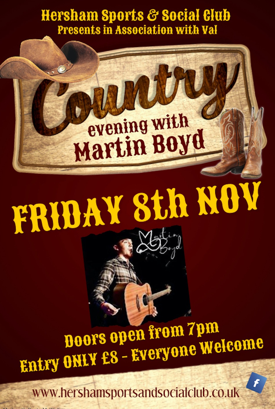 Country Poster - Nov