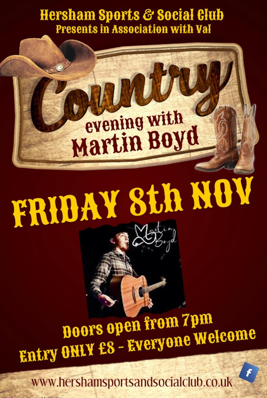 Country Poster - Nov