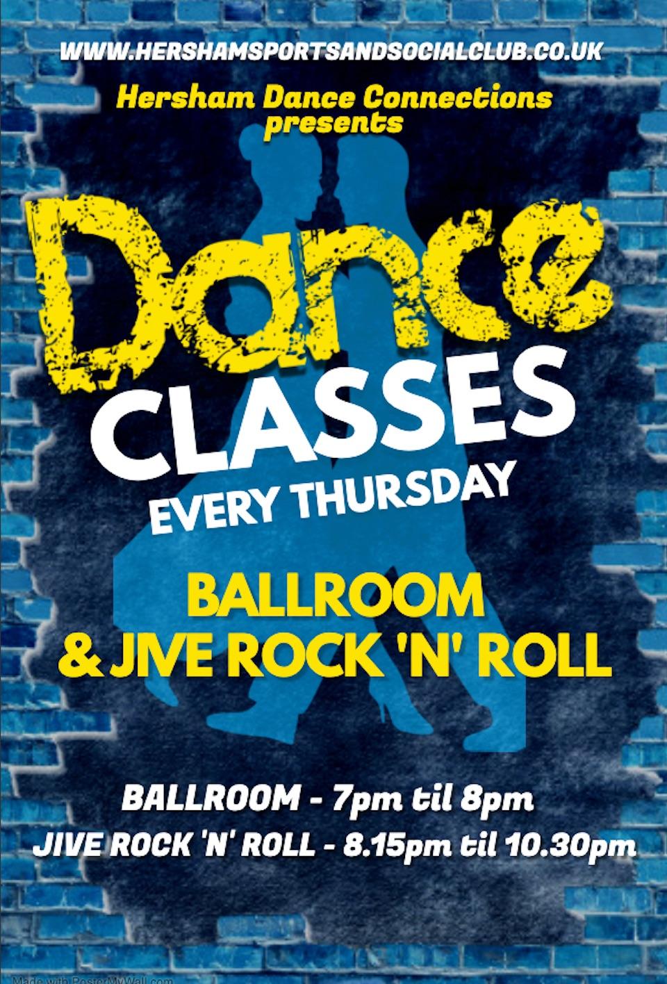 Dance Classes - 2020 Poster