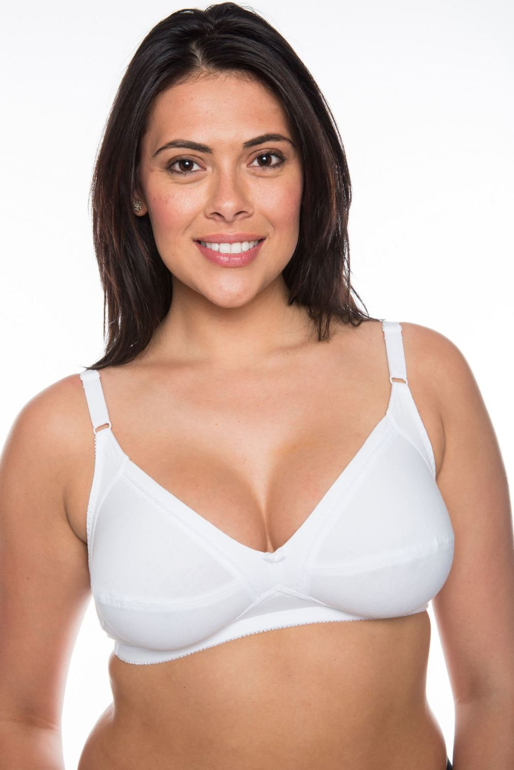 CB235 - 20 Cotton Bras with Lycra - only £3.00 Each