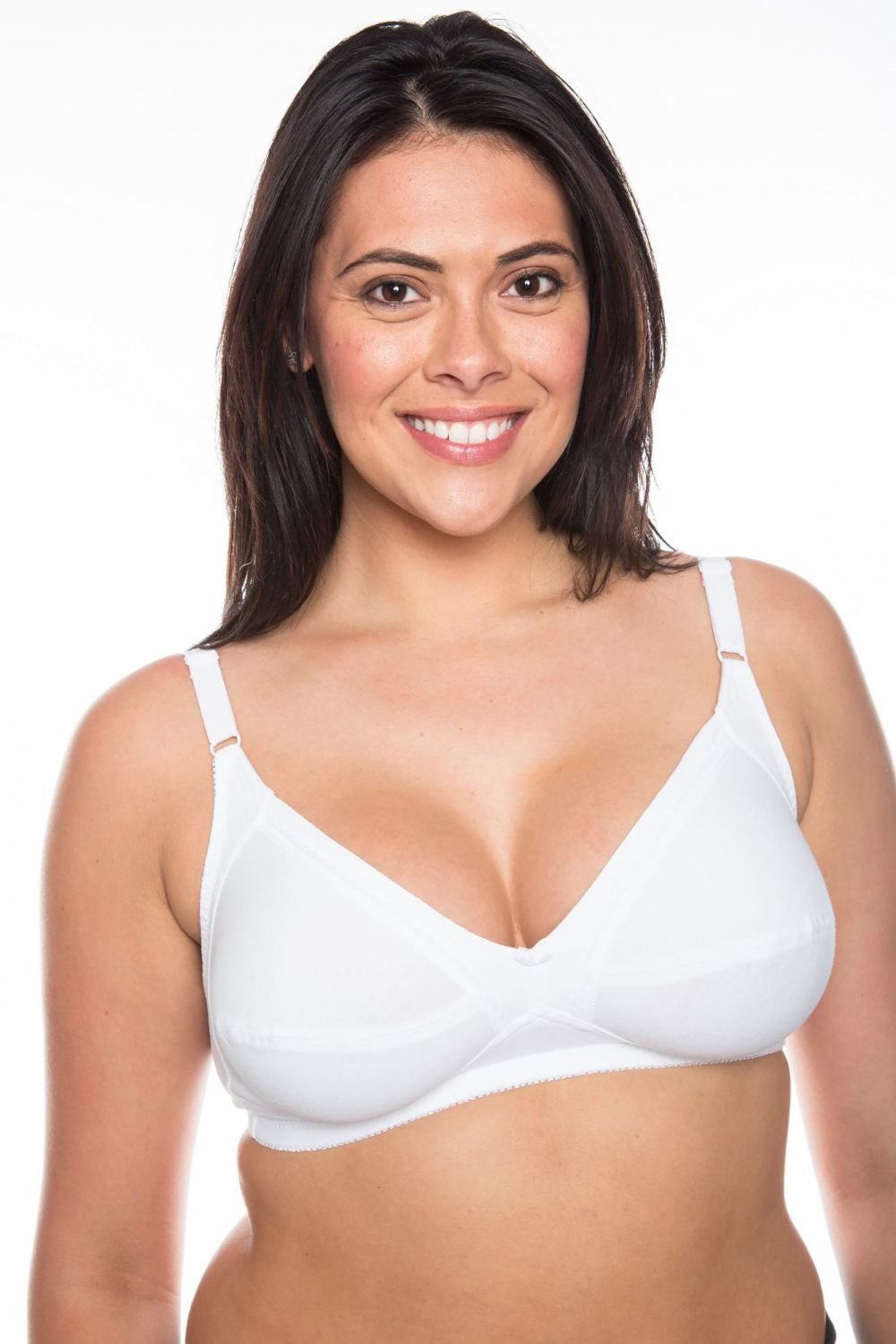 CB235 - 40 Cotton Bras with Lycra - only £2.90 Each