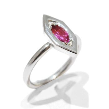 Flamingo Gemstone Ring