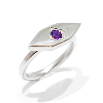Orchid Gemstone Ring
