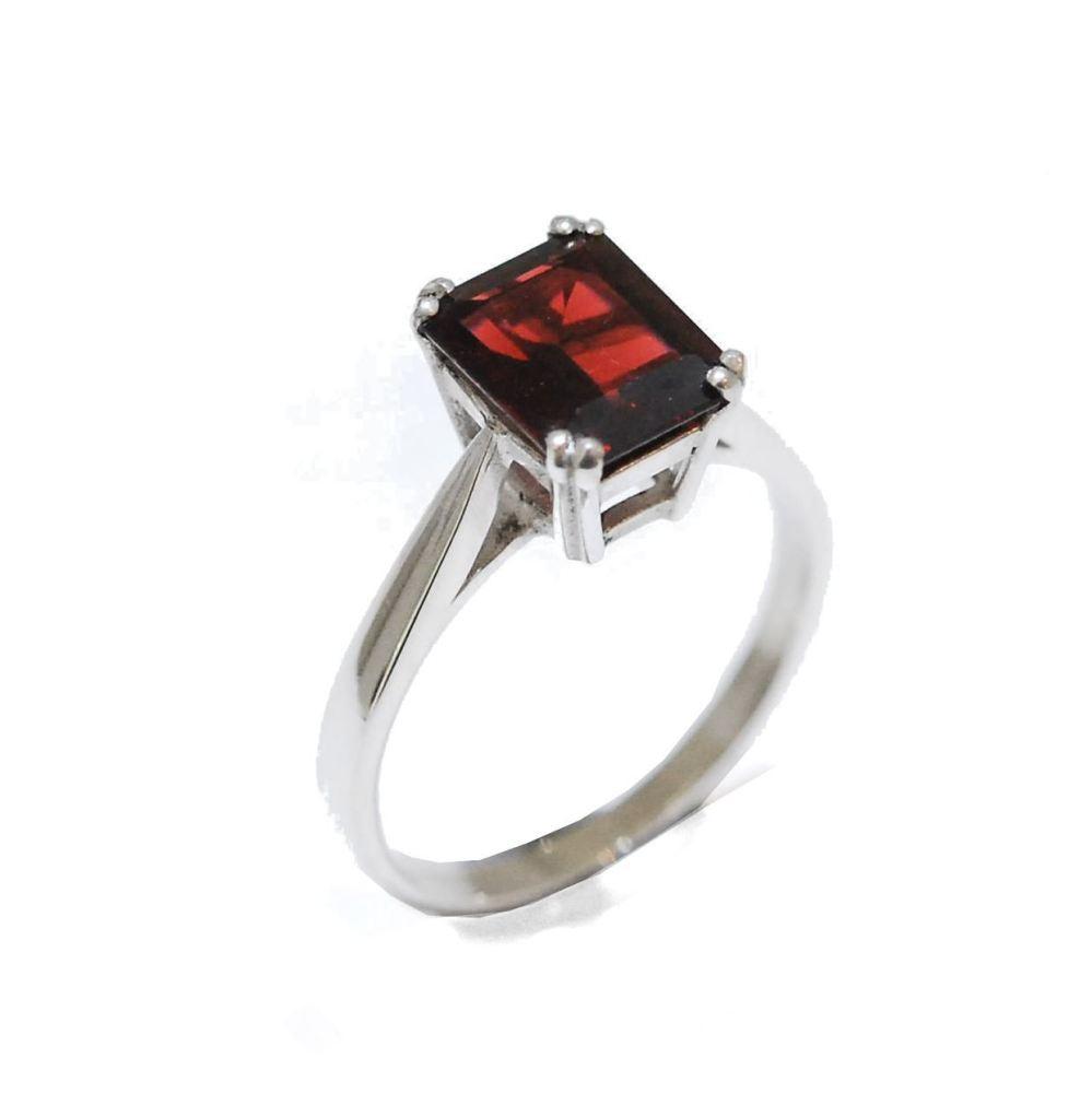 Carmine Proposal Ring