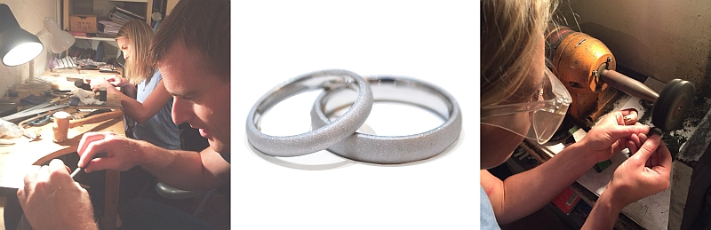 make your own wedding rings jewellery class