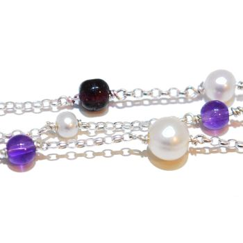 Rainbow Rocks Gemstone Bracelet