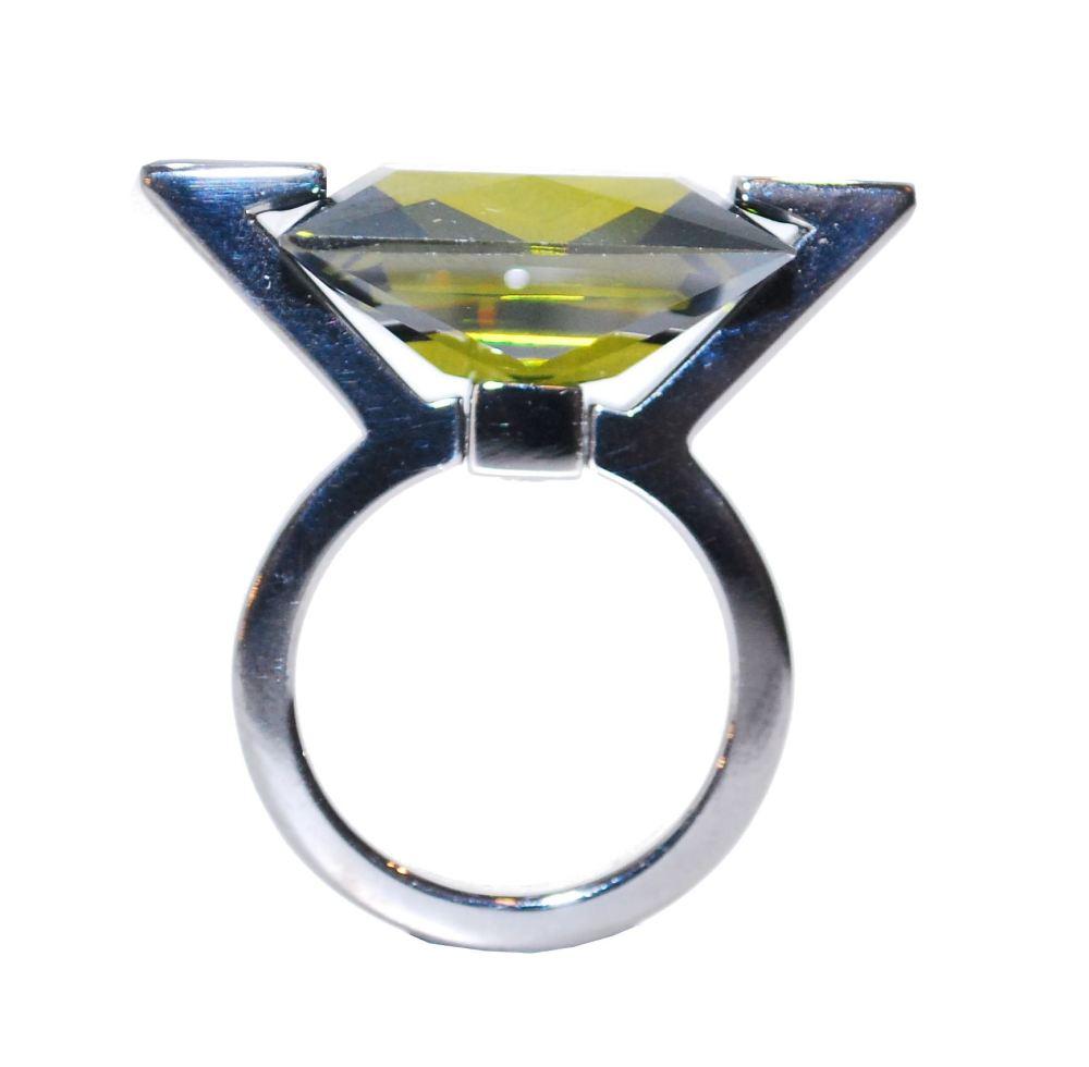 Ultra Modern Deep Green Ring