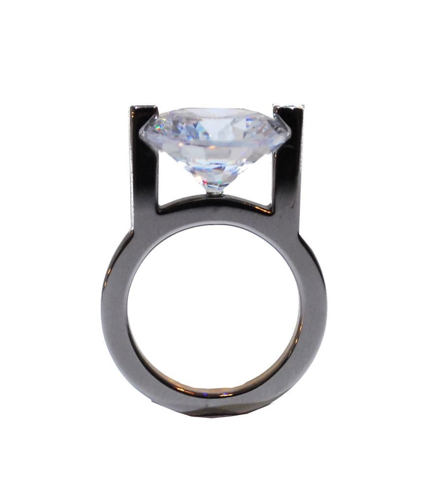 Ultra Modern Clear Ring