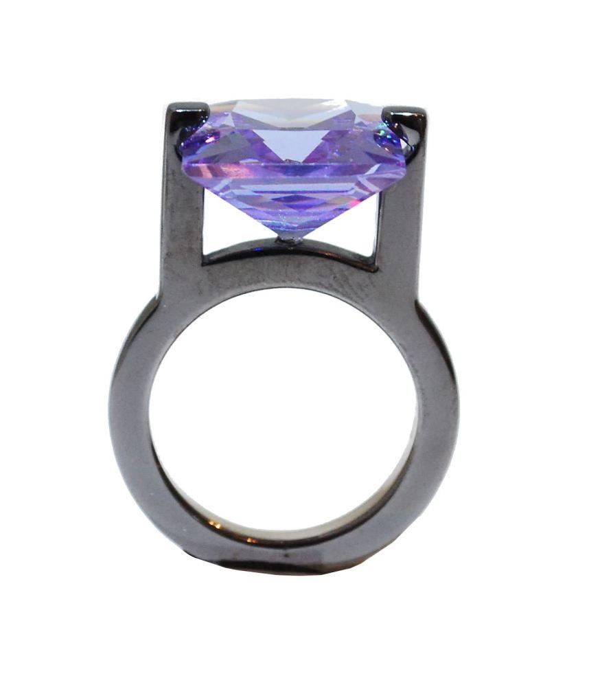 Ultra Modern Purple Ring