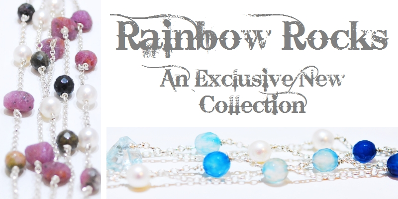 Rainbow Rocks Unique Handmade Gemstone Jewellery