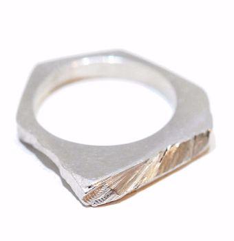 Silver Slice Ring