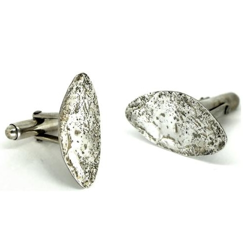 One Day Silver Jewellery Class - Make a pair of silver cufflinks - Taster S