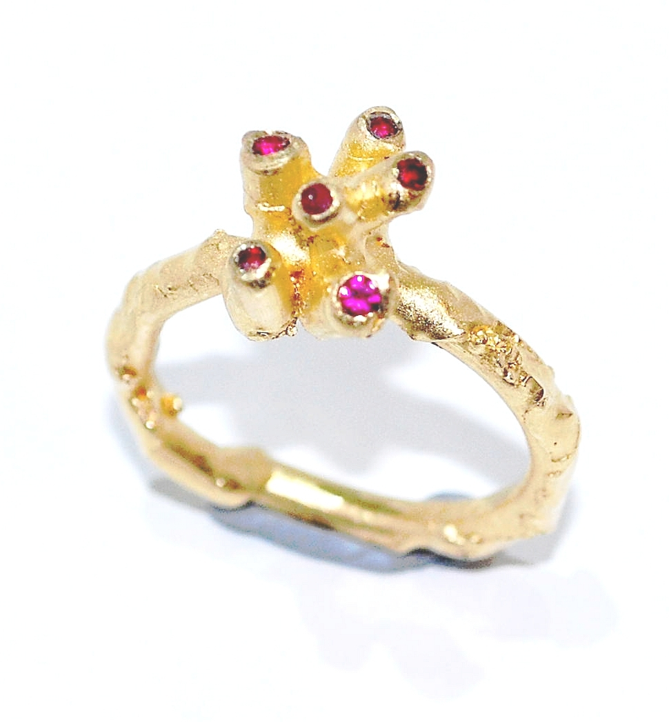 18 ct ruby ring