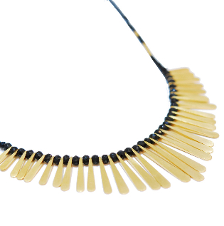 Contemporary Handmade Jewellery - Boa Necklace