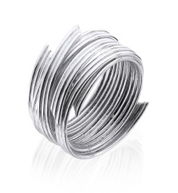 Contemporary Silver Jewellery - Modern silver ring