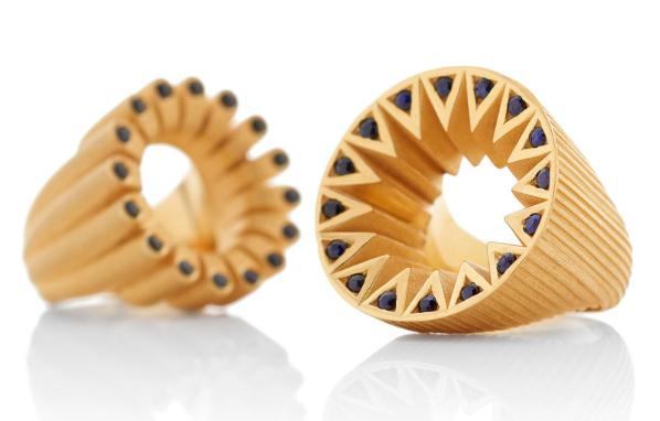 Flora  Bhattachary's designer jewellery
