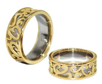 handmade wedding rings eternity rings wedding