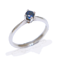 sapphire gemstone proposal engagement ring