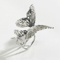 Silver Butterfly Effect Ring
