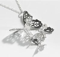 Butterfly Effect Silver Pendant