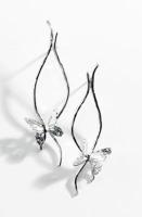 Butterfly Effect Silver Earrings